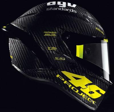 PistaGP, il nuovo casco di Valentino Rossi