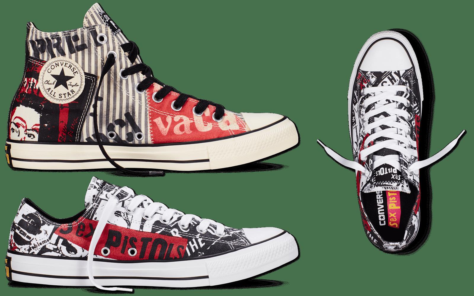 Converse Sex Pistols