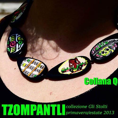 Tzompantli, accessori che guardano al Centro America