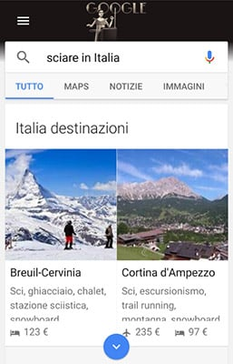 Google Destinations