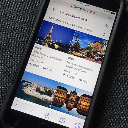 Google Destinations, un nuovo modo di pianificare i tuoi viaggi