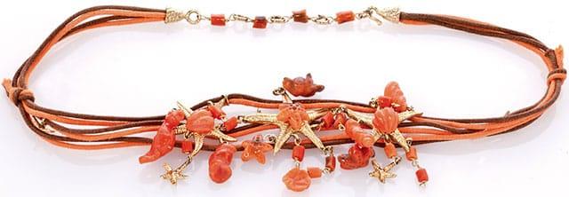 Gioielli in corallo firmati Oro di Sciacca