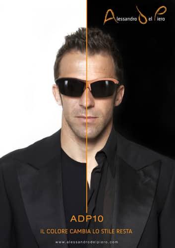 ADP10, gli occhiali Alessandro Del Piero