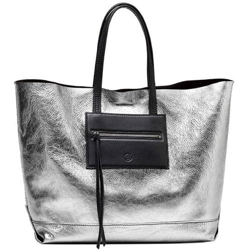 The Silver Lady: l'argento metallizzato di Elena Ghisellini