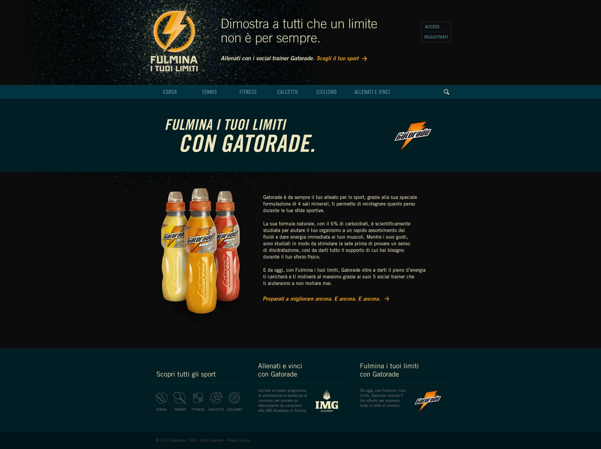 Gatorade | Fulmina i tuoi limiti