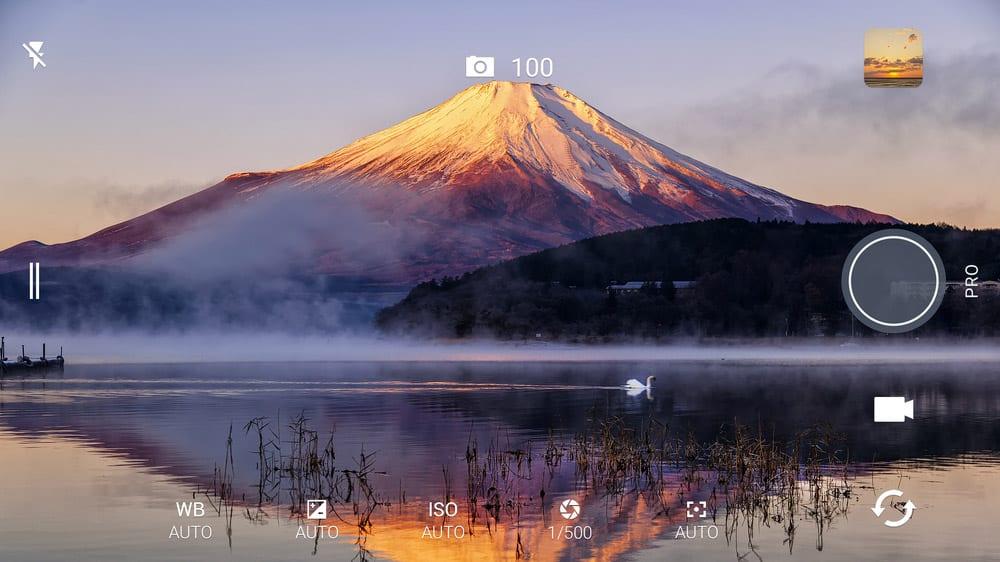 HTC 10 fotocamera