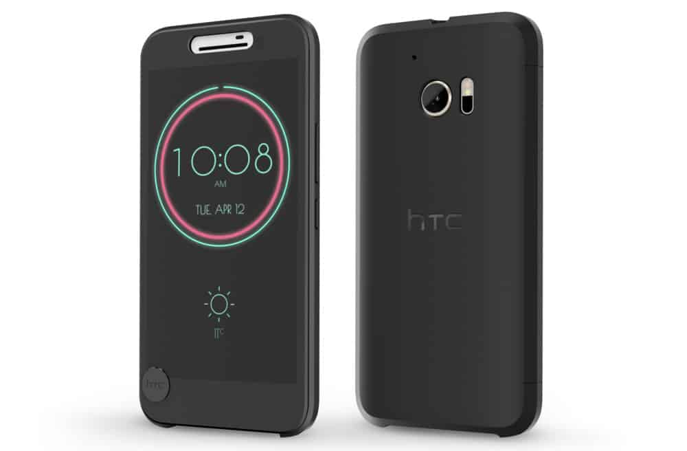 HTC 10 cover Ice View
