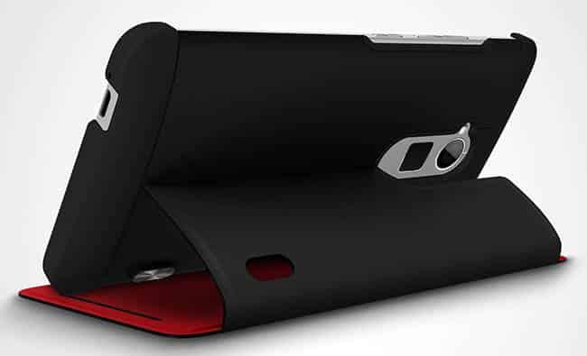 HTC One max power flip case