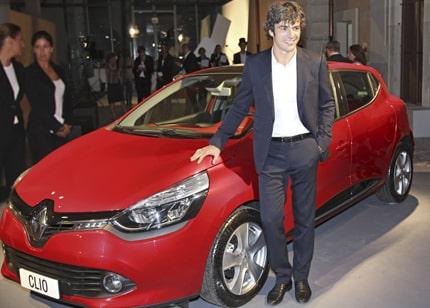 Luca Argentero per la Nuova Clio Renault