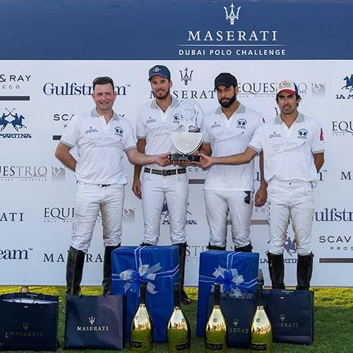 Maserati Dubai Polo Challenge, sponsor tecnico La Martina