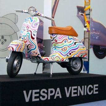 Vespa Venice al Museo Piaggio