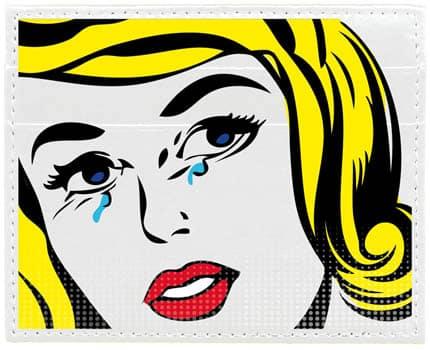 Il portacard Vip Flap omaggia Roy Lichtenstein