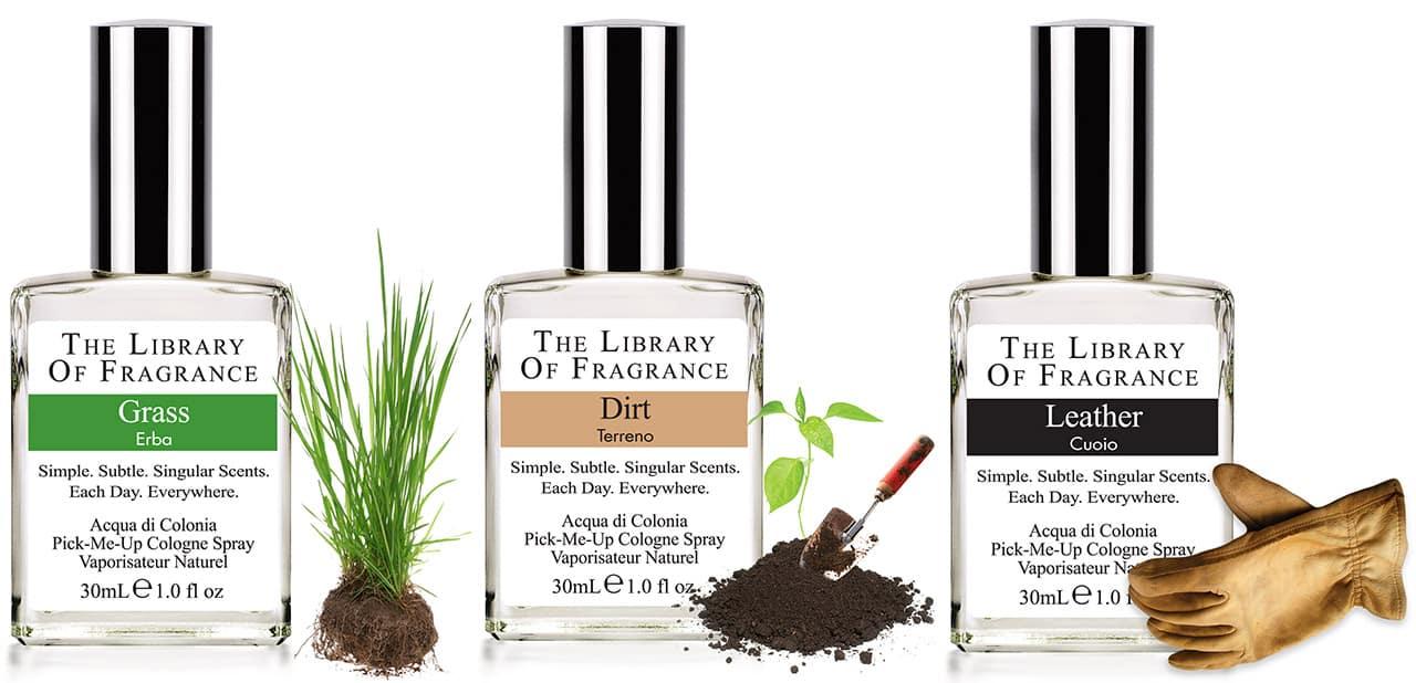 The Library of Fragrance | Erba, Terreno e Pelle