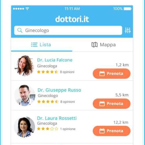 Dottori.it, ecco l'App per cercare il proprio medico