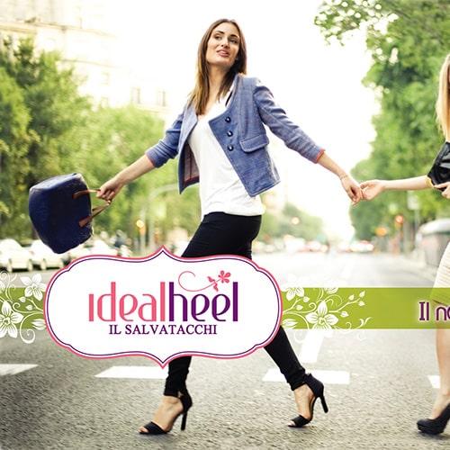 IdealHeel: tacchi alti e sampietrini finalmente amici!