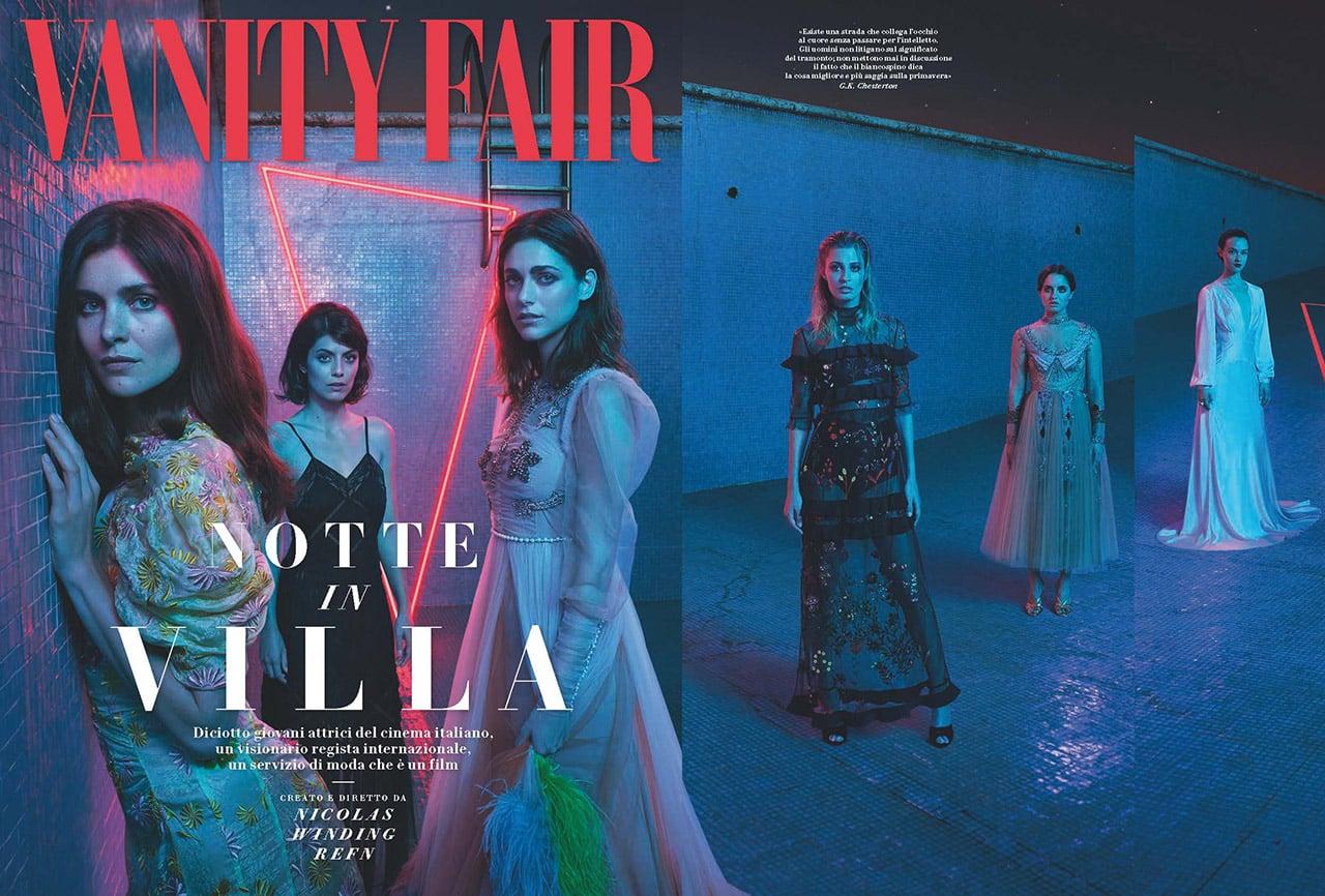 Nicolas Winding Refn su Vanity Fair