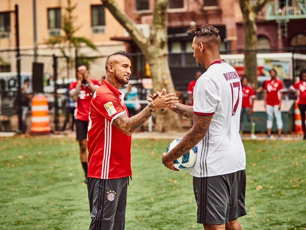 Arturo Vidal e Jérôme Boateng