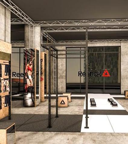 Reebok Experience Store: a Milano un temporary store unico