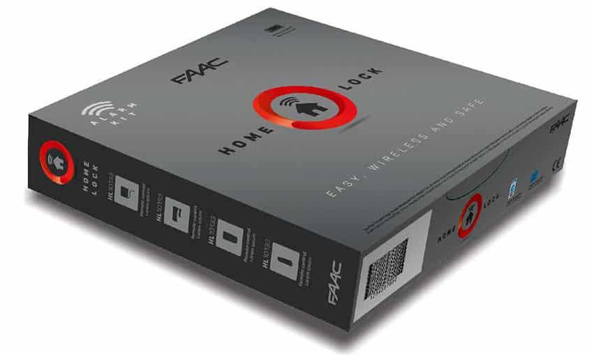 Sistemi di allarme wireless Home Lock di FAAC