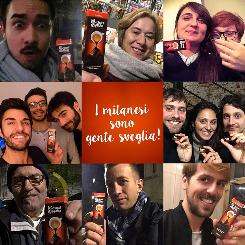 Pocket Coffee nella notte di Milano