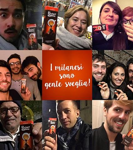 Pocket Coffee addolcisce la notte di Milano
