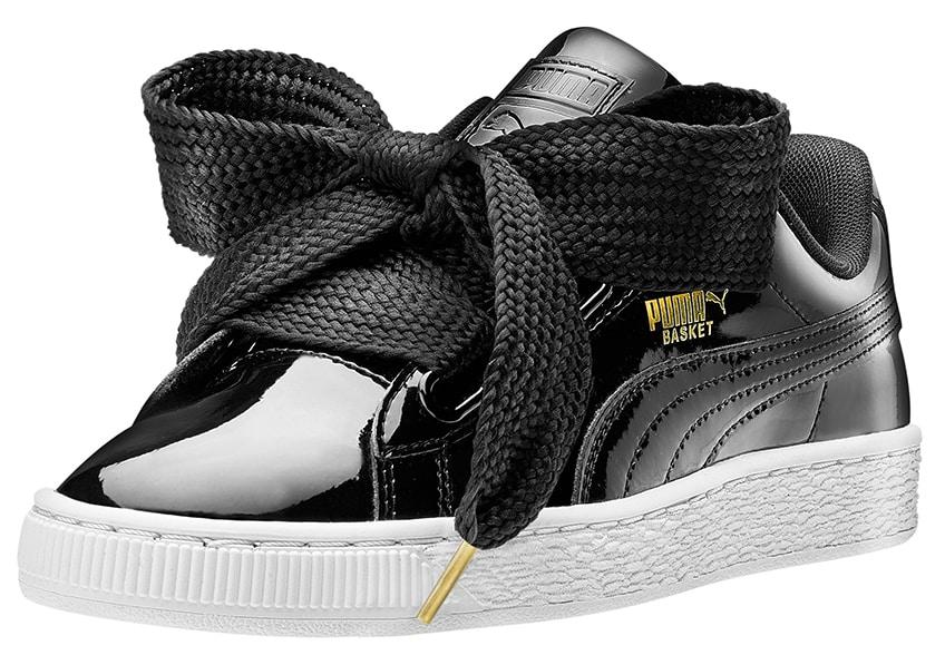 Puma Basket Heart black
