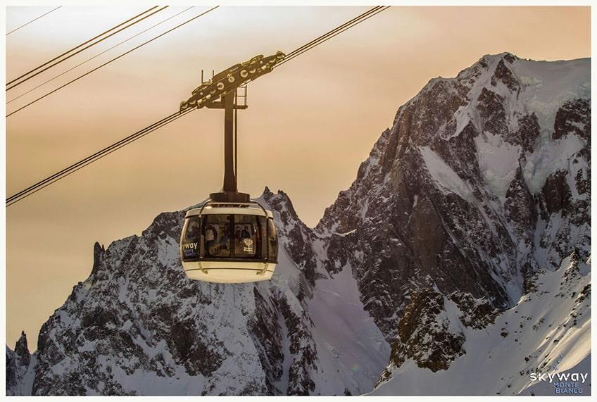 Skyway Monte Bianco - Photo credits: Filippo Salmé