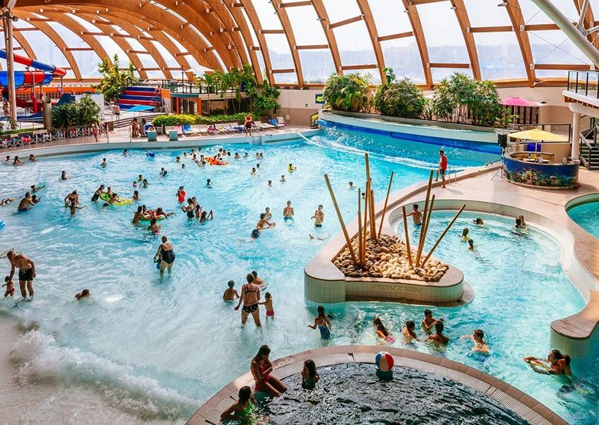Il parco acquatico Acquaworld a Milano