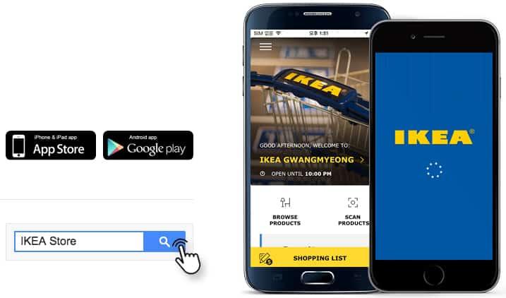 L'app IKEA