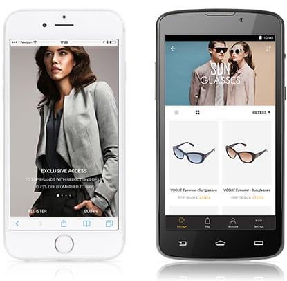 L'app di Zalando Privé