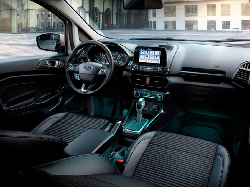 Gli interni della nuova Ford EcoSport 2017