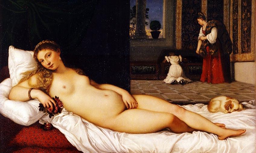 Arte al Museo degli Uffizi di Firenze