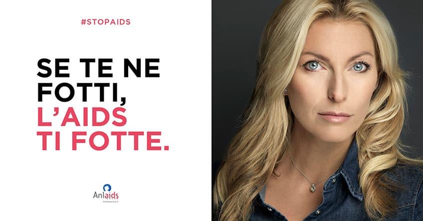 """""""Se te ne fotti, l'Aids ti fotte"""": la campagna Anlaids per la Giornata mondiale contro l'AIDS"""