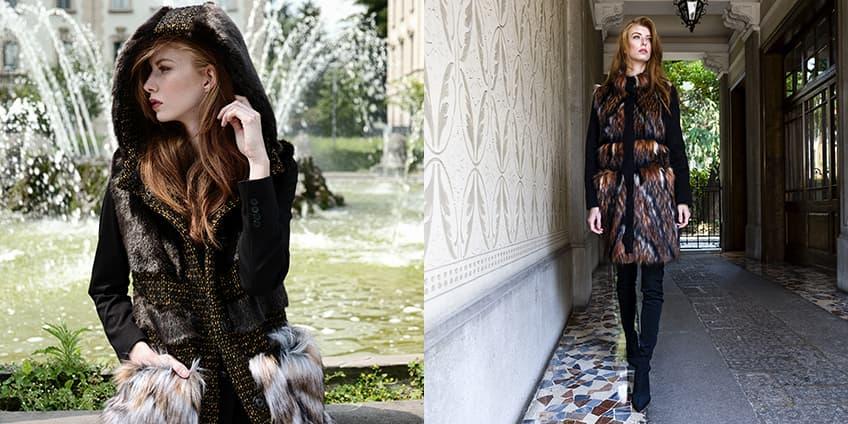 LAKFILD e il nuovo trend dell'eco-pelliccia negli abiti femminili