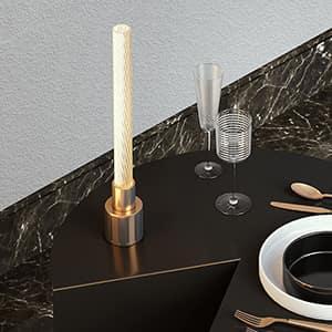 """Attilio Ladina: ecco la nuova lampada di design """"Candle"""""""