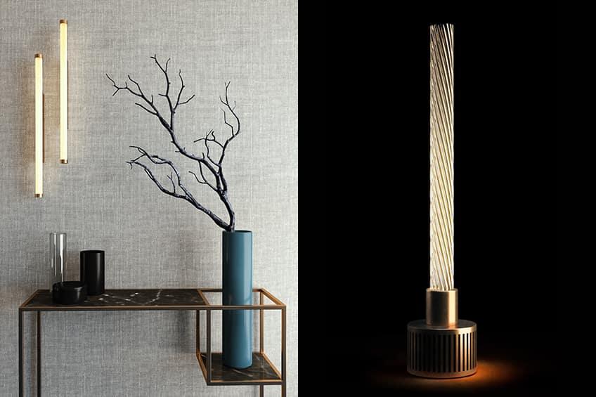 La lampada Candle firmata Attilio Ladina