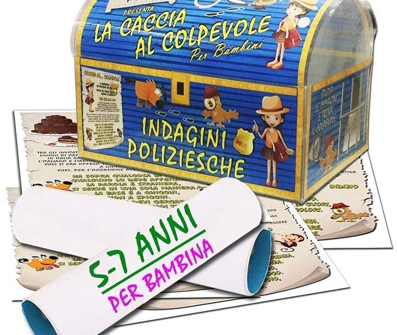 Caccia a tesoro con indagine poliziesca; Piccole Perle Edizioni Creative di Testa Raffaele