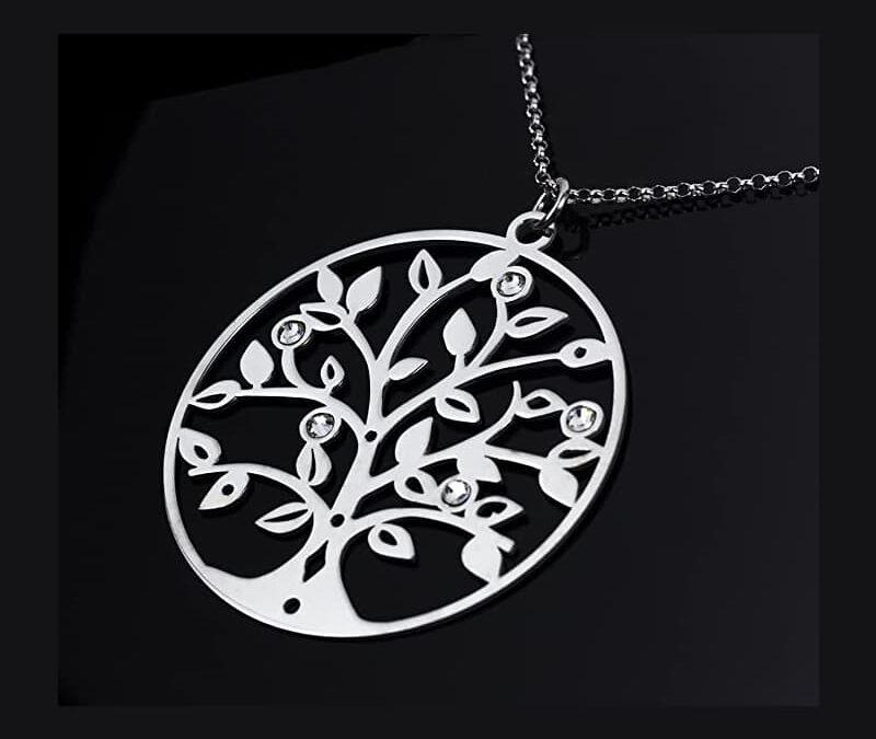 Collana con pendente albero della vita Swarovsky; Aka Gioielli