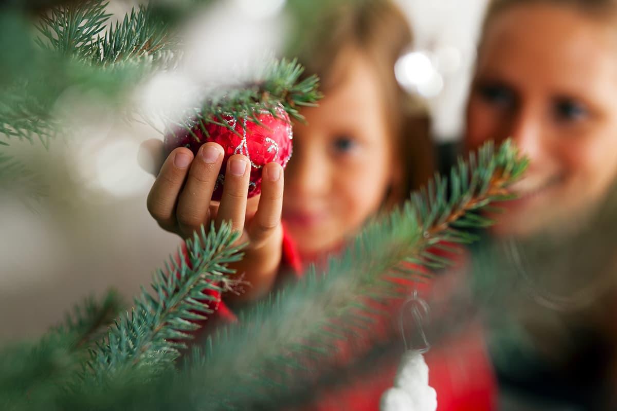La tradizione dell'albero di Natale
