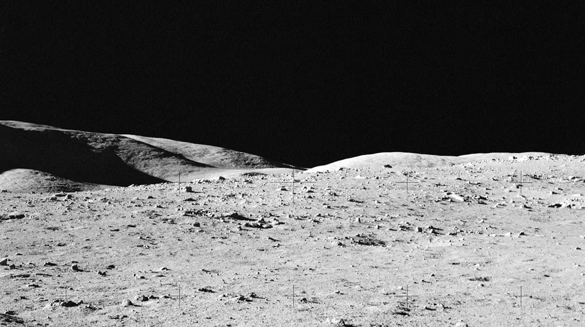 La Luna vista dall'Apollo 17
