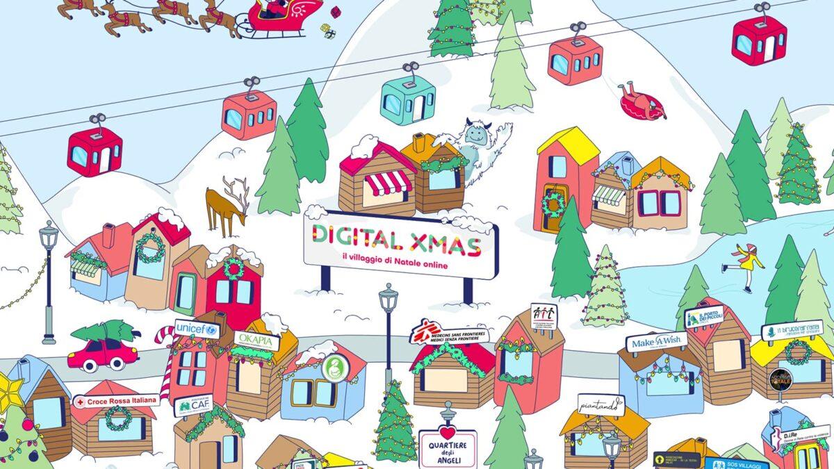 Villaggio di Natale digital: la magia delle feste direttamente nelle case delle famiglie