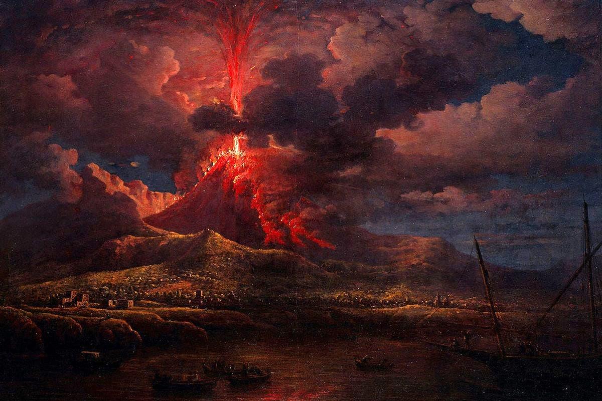 Eruzione del Vesuvio