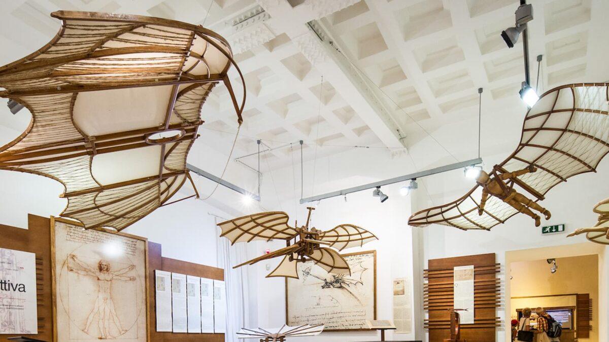 Mostra Leonardo da Vinci: Palazzo della Cancelleria ospita il tour virtuale