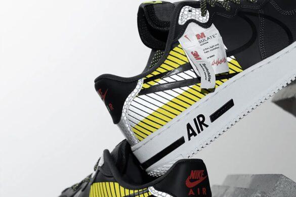 Collezione Nike e 3M: le Nike Air Force
